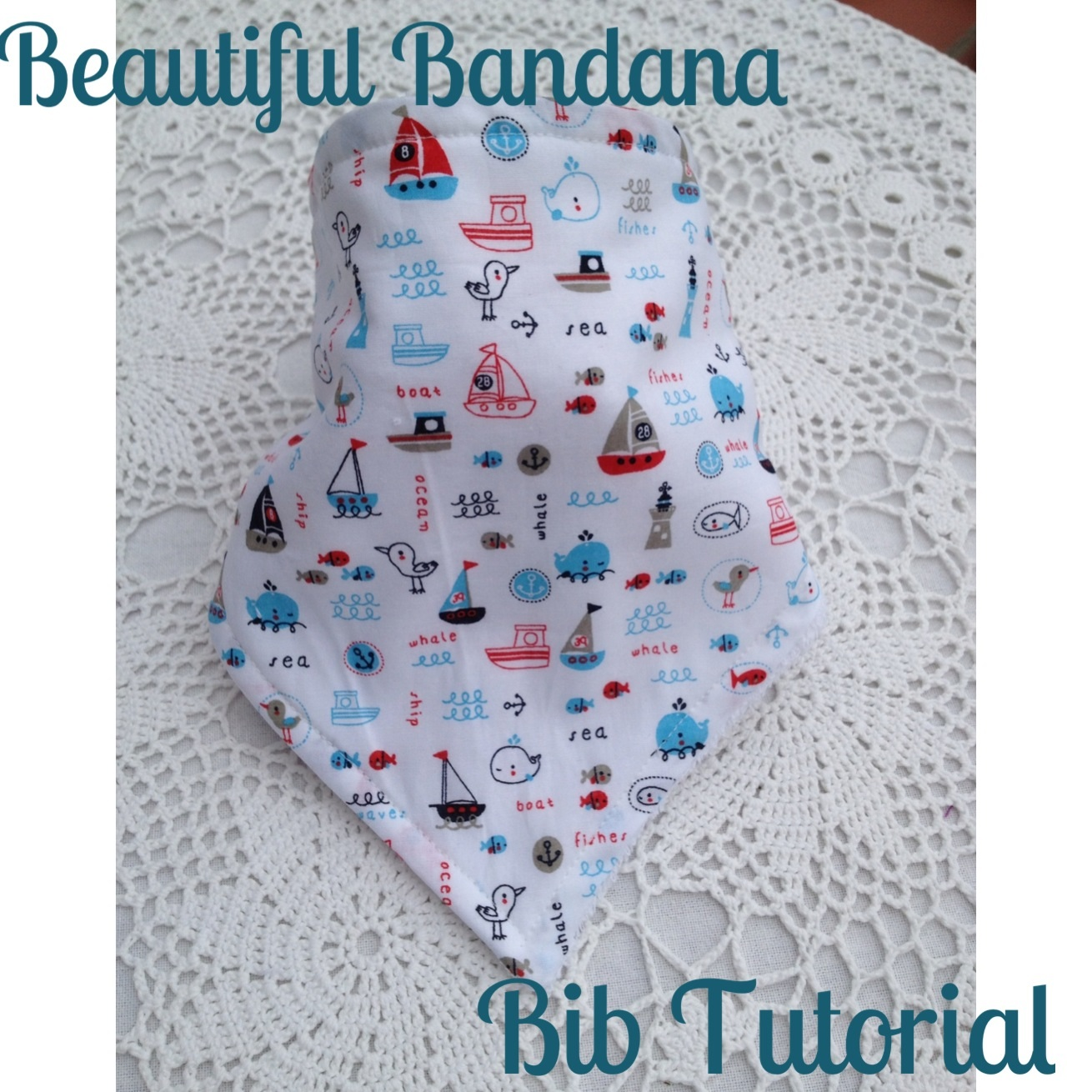 These little bandana bibs are so cute and great for little dribblers!