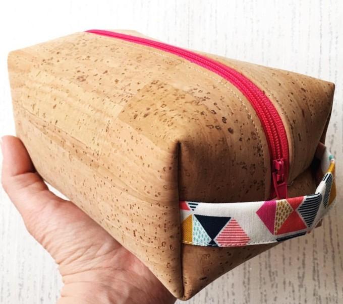 boxy pouch cork